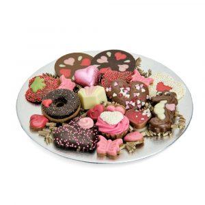 Plateau midi opgemaakt met bonbons en flikken